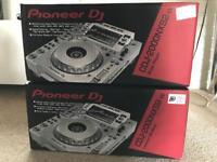 2x Pioneer CDJ 2000 NXS2 White Limited Edition DJ Decks - Warranty - New - Boxed - DJM NEXUS 2