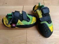 Ocun Climbing Shoes (size 8.5 UK 42.5 EU) RRP £80