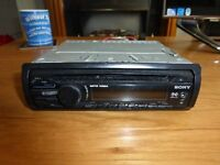 sony cdx-gt26 car cd player radio mp3 wma xpod aux