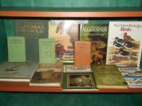 Collection of Nature books