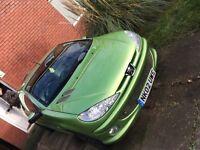 Peugeot 206 cc spares or repair