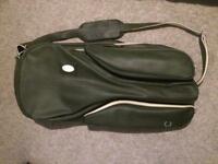 Very rare Fred Perry Green Vintage style tennis bag hold-all