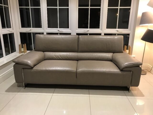 Harvey Norman 3 Seater Lorenzo Leather