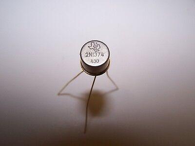2n1374 Texas Instruments Germanium Gold Long Leg Leads Fuzz Box 5 Transistors