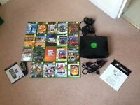Microsoft X Box Original + games bundle