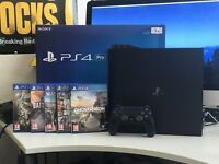 PlayStation 4 Pro 1TB + 5 Games