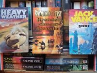 BOOK COLLECTION,JOB LOT,SCIENCE FICTION,FANTASY,HARDBACK,PAPERBACK,ALL GOOD,SOME ASNEW