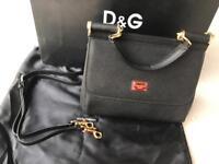 Dolce&Gabbana Sicily leather medium bag