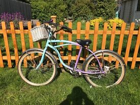 5 speed retro low rider chopper bicycle bike project spares repair