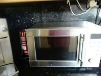 micro wave oven and toaster