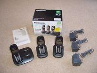 Panasonic Digital Cordless (Triple) Phones