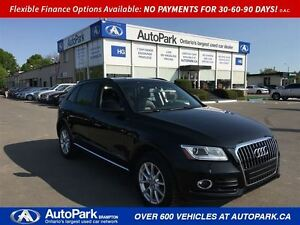 2013 Audi Q5 2.0L  Leather  Heated seats  Low Kms