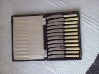 12 knives