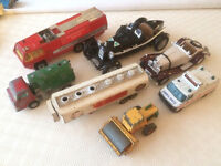 Model cars, various sizes and makes.
