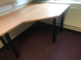 Budget Waved Desk (Missing trims hence price)