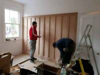 Carpentry extensions painting and decorating