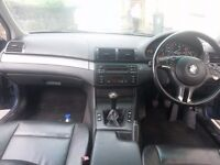 BMW 320d leather interior , parking sensors ,a/c