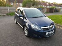 2012 Vauxhall Zafira 1.7 TD Excite 5dr Manual @07445775115 1+Owner+Full+History++Warranty