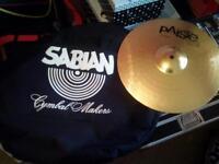 paiste cymbal and bag