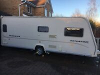 Bailey Senator Indiana Series 6 2008 Fixed Bed Touring caravan