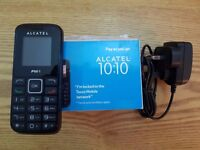 Alcatel One Touch 1010 Unlocked FM, MP3, 2G Black MOBILE PHONE