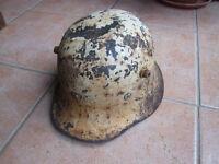Irish Army M27 steel helmet by Vickers
