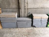 10 breeze blocks 440x215x75mm
