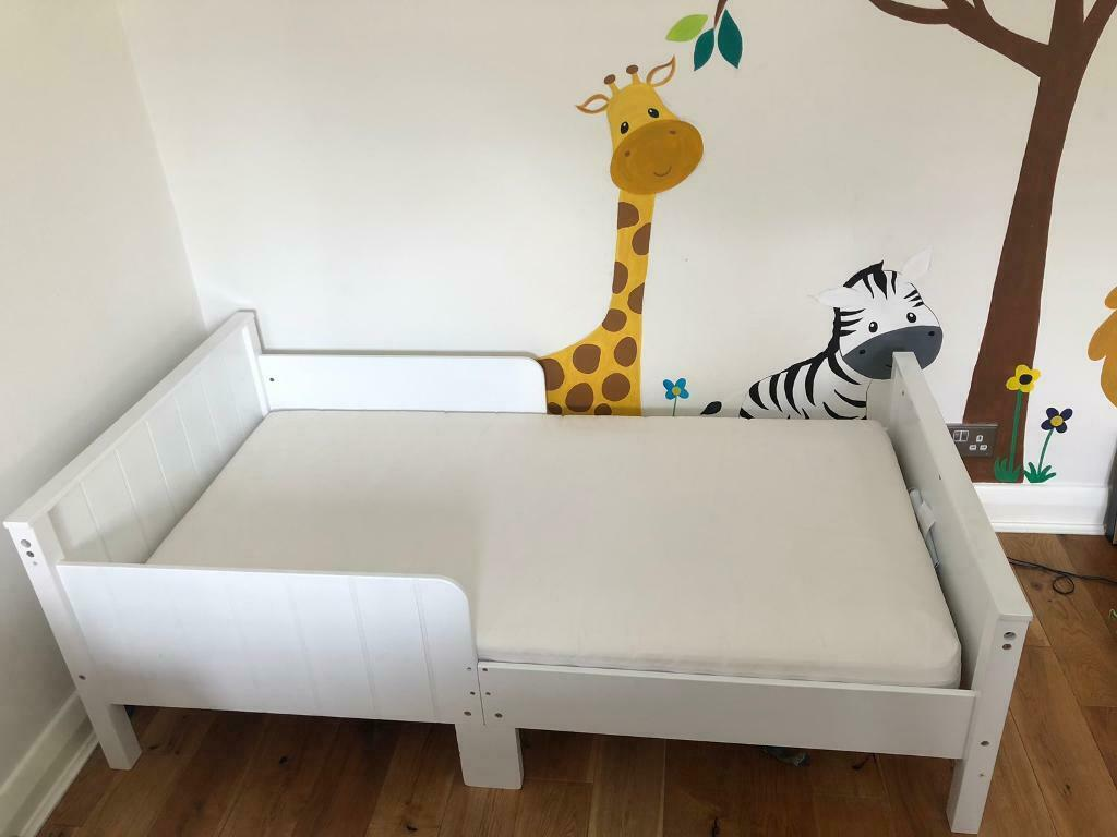 Gltc White Wood Toddler Bed In Purley London Gumtree