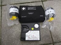 bmw tyre inflation kit and first aid kit