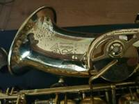 Saxophone alto trevor James the horn