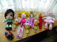 Girls Bundle - Incl Lambie, Disney Princess Watch, Sindy & Barbie Dolls, Holly, etc