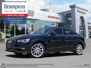 2016 Audi A3 2.0T (S tronic)| 1 OWNER | AWD | LOADED |