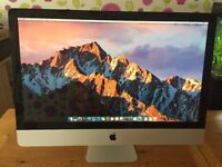 "Apple iMac A1312 27""Quad Core i5 2.7GHZ, 20GB Ram Brand New Seagate 1TB HDD"