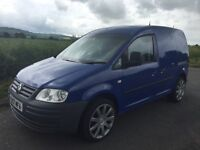 57 VW CADDY 2.0 SDI, A\C, ALLOYS, JUNE 2016 MOT, RECON GEARBOX AND NEW CLUTCH FITTED THIS WEEK