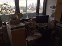 friendly illustration/design/film maker studio space for rent