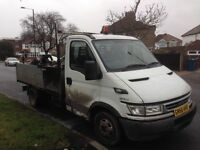 Ford iveco tipper 56 Reg non runner spares or repairs long mot