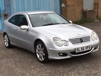 (56) Mercedes Benz C220 coupe 2.1 cdi Auto, mot -August 2018 , 3 owners ,audi,bmw,golf,astra,focus