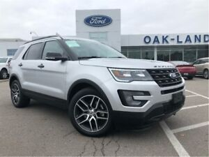 2017 Ford Explorer Sport,Low Lease & Finance Rates!!