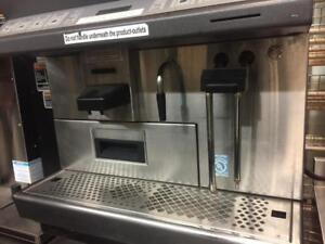 Thermoplan Black and White Commercial Coffee Machine CTS2