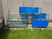 Fish tanks 3ft & 4ft