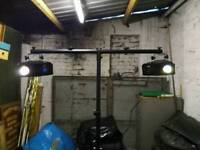 Chauvet Disco Lights Complete With T-Stand