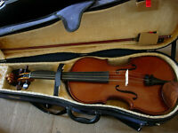 "Stentor 16"" viola- as new condition, played only a handful of times, excellent tone"