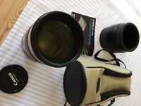 Canon 70-200mm 2.8 IS USM lens & filters - excellent condition