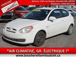 2008 Hyundai Accent *AIR CLIM, GROUPE ÉLECTRIQUE*