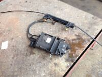renault scenic electronic hand brake unit 2007 5 seater