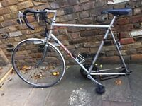 Peugeot bicycle with large frame (23.5 inch)