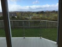 3 Bedroom executive ground floor flat with balcony overlooking Golf Course situated in Nairn