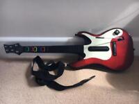 Guitar hero 5 red&white wireless
