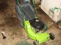 petrol lawn mowers full service full working ready to go