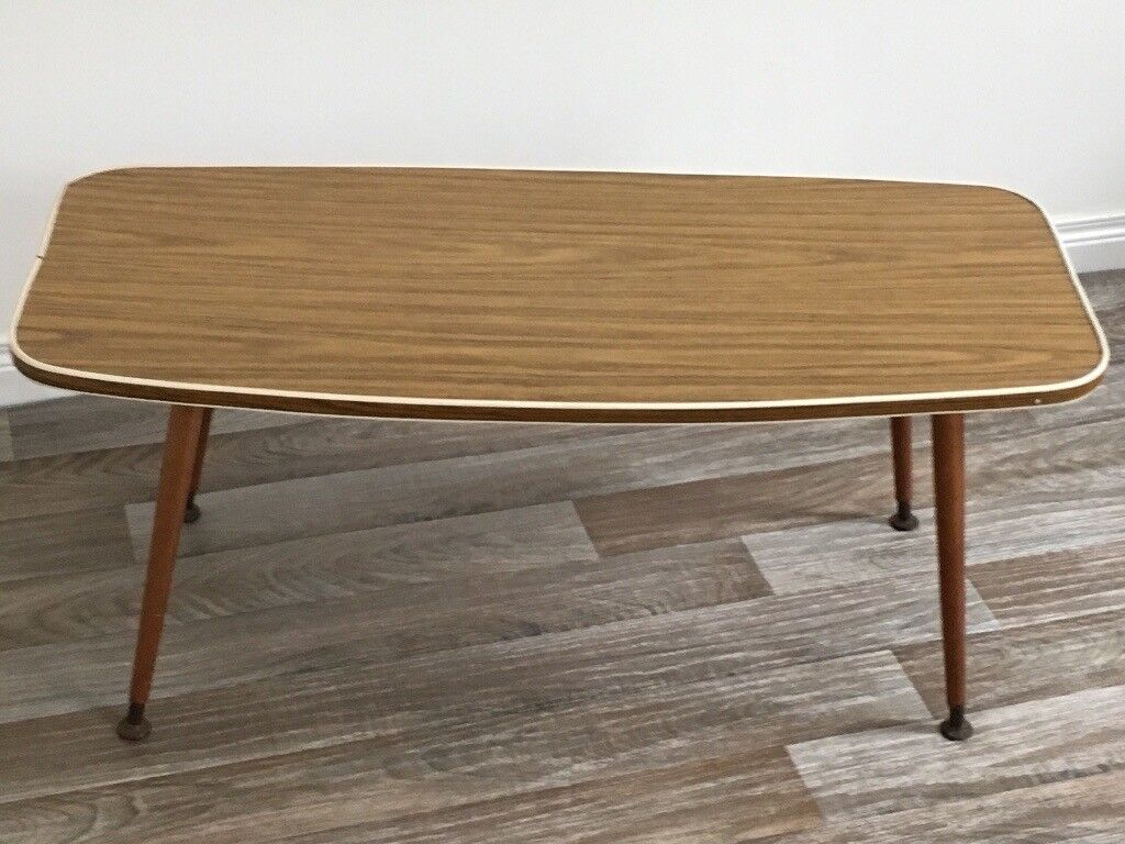 vintage retro atomic formica topped coffee table in. Black Bedroom Furniture Sets. Home Design Ideas